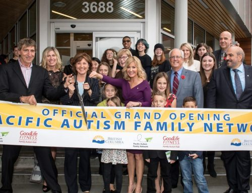 The Goodlife Fitness Autism Family Hub Grand Opening