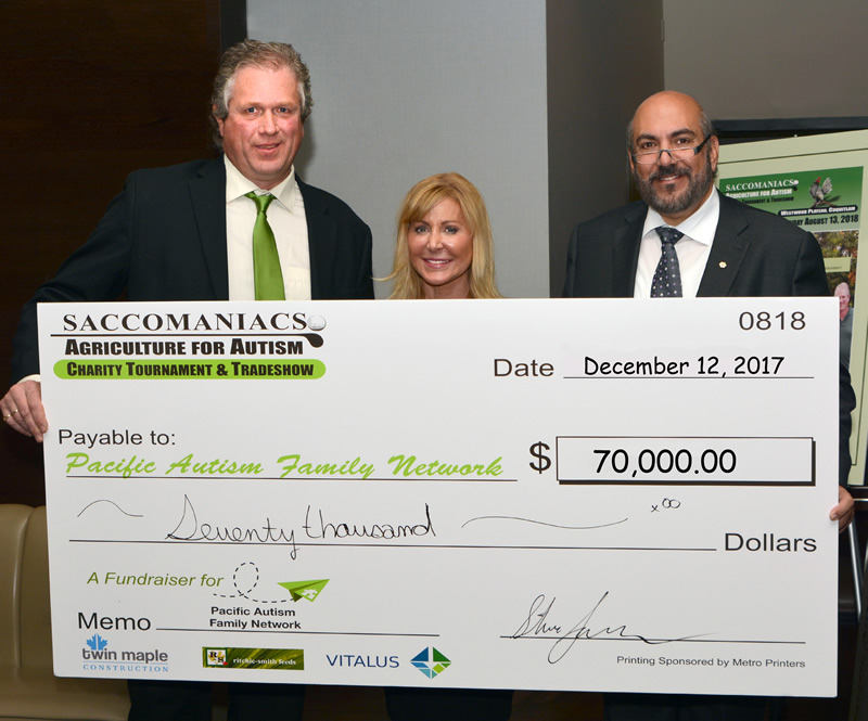 Saccomaniacs Agriculture for Autism Tournament raises funds for Pacific Autism